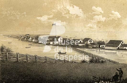 Canada – Un voyage de Québec vers la Gaspésie a travers les paroisses au 19 eme siècle 99.28.395_Paspebiac__Haut_