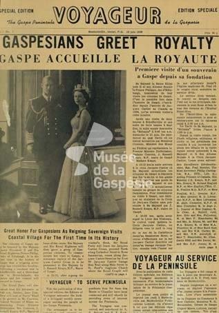 Journal Le Voyageur Musee De La Gaspesie